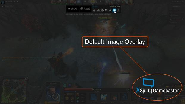 New XSplit Gamecaster feature: Image Overlay | XSplit Blog