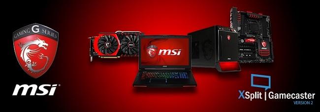 MSI XSplit