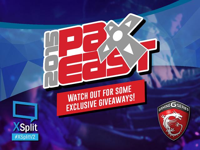 Pax East XSplit