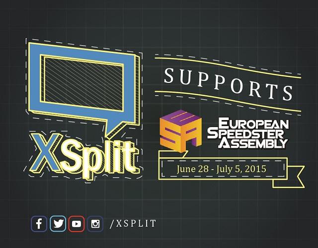XSplit supports ESA 2015