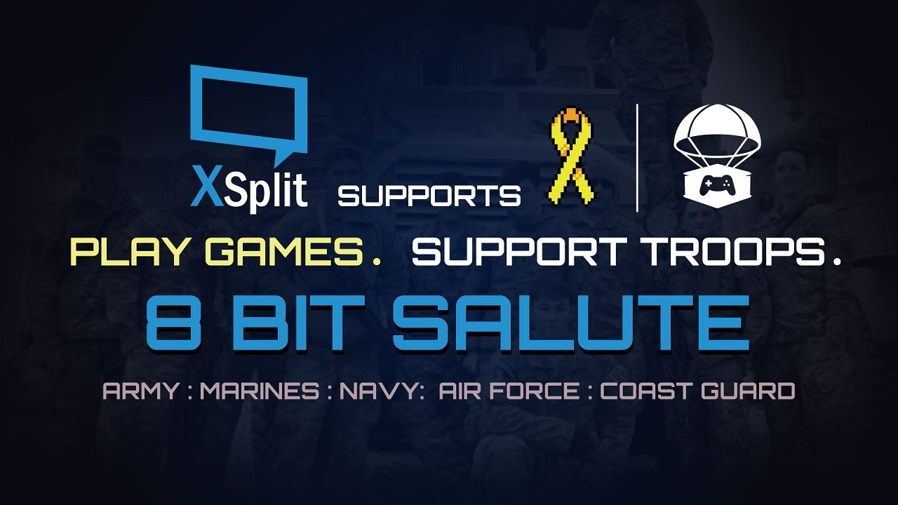 XSplit Takes Part of 8BitSalute 2017
