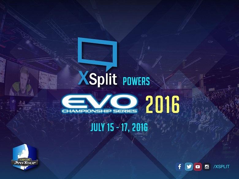 XSplit Powers EVO 2016 Championship