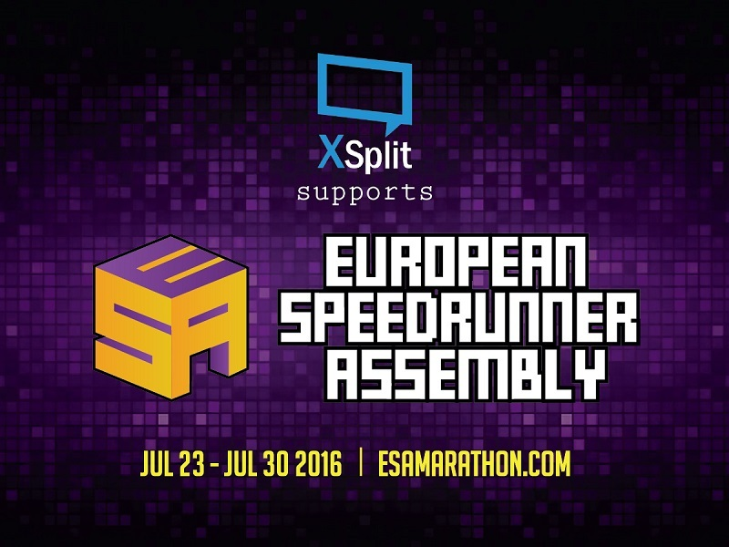 XSplit Powers ESA Marathon 2016