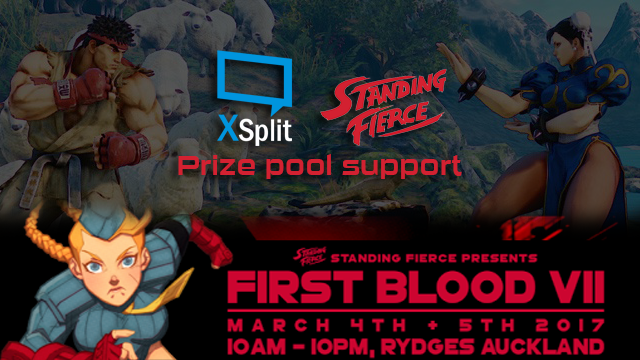 XSplit Sponsors First Blood VII Tournament