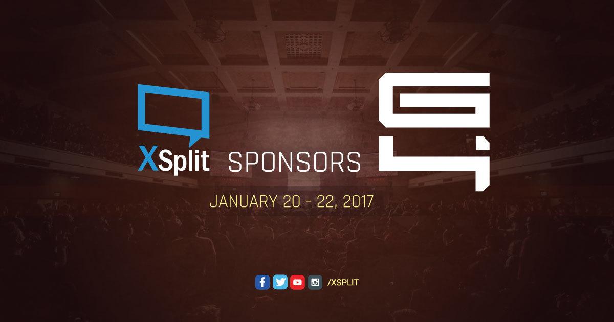 XSplit Sponsors Genesis 4