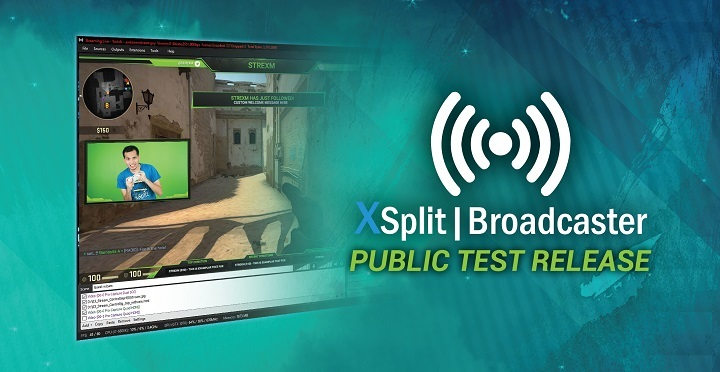 XSplit Broadcaster PTR Updates and Features