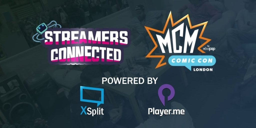 XSplit Join Streamers Connected at Comic Con London