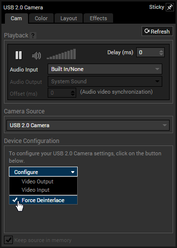 Adding A Webcam Xsplit Support