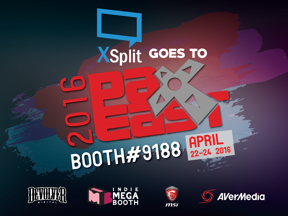 XSplit at PAX East 2016