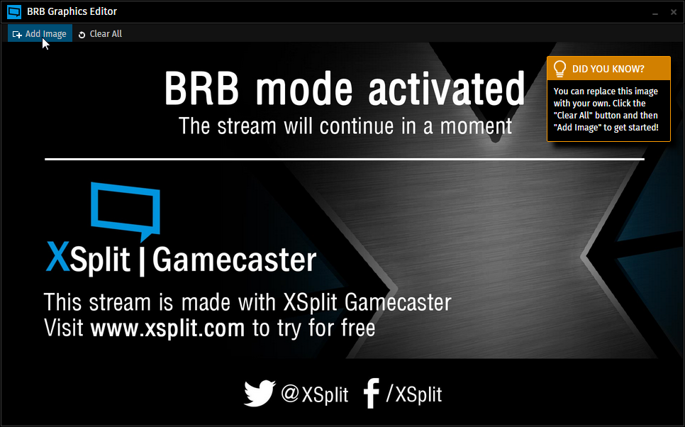 "What are ""BRB Graphics?"" 