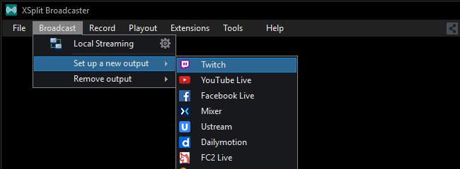can you delete past broadcasts on twitch