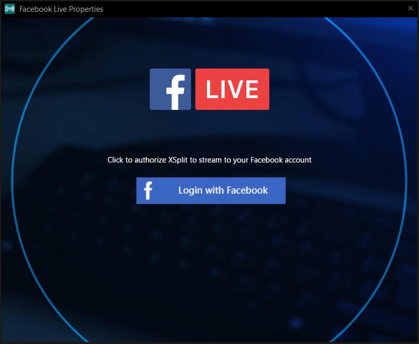 Facebook Live properties