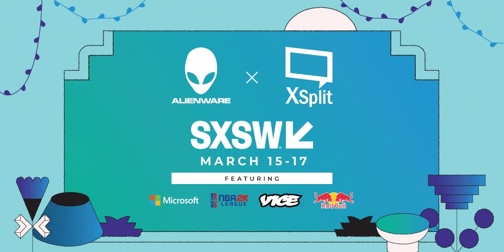 XSplit Partners with Alienware at SXSW Gaming