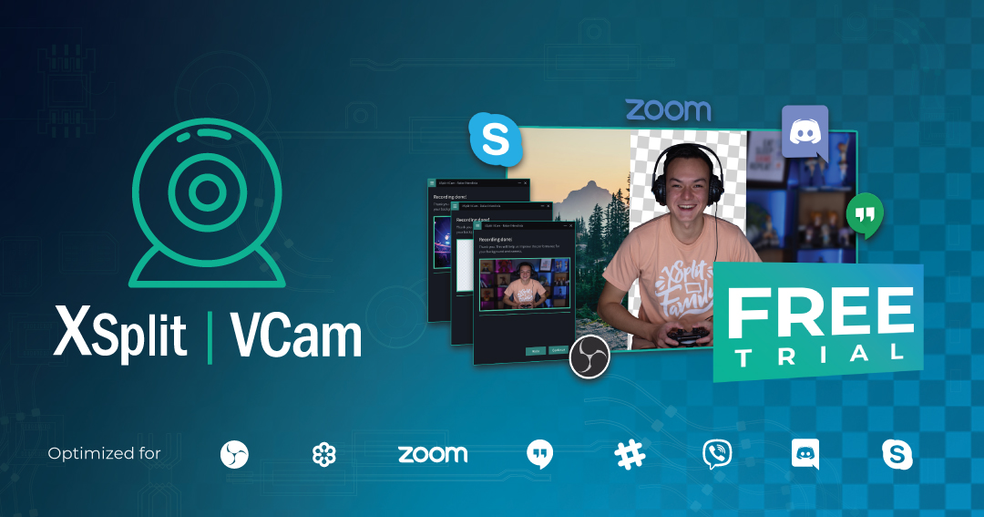 XSplit VCam Holiday Offer
